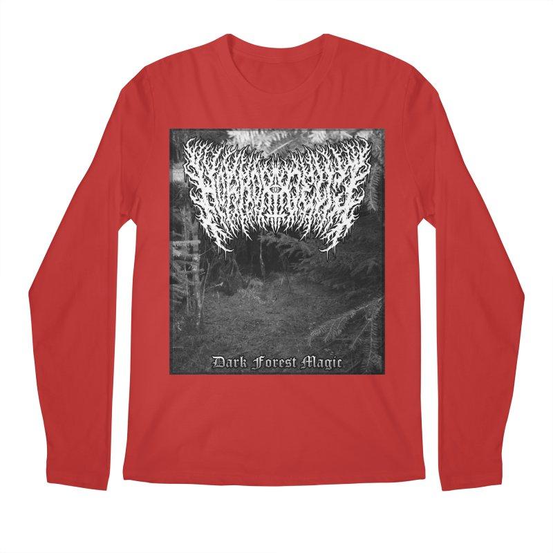 Horrordelic - Dark Forest Magic Men's Regular Longsleeve T-Shirt by Horrordelic Darkpsy Merch
