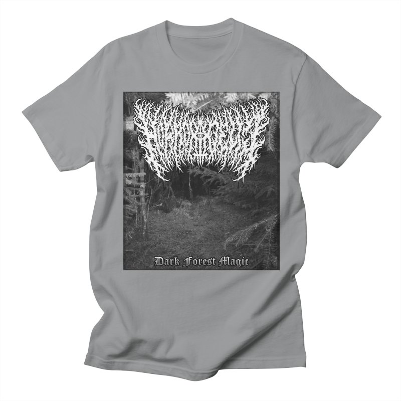 Horrordelic - Dark Forest Magic Men's Regular T-Shirt by Horrordelic Darkpsy Merch