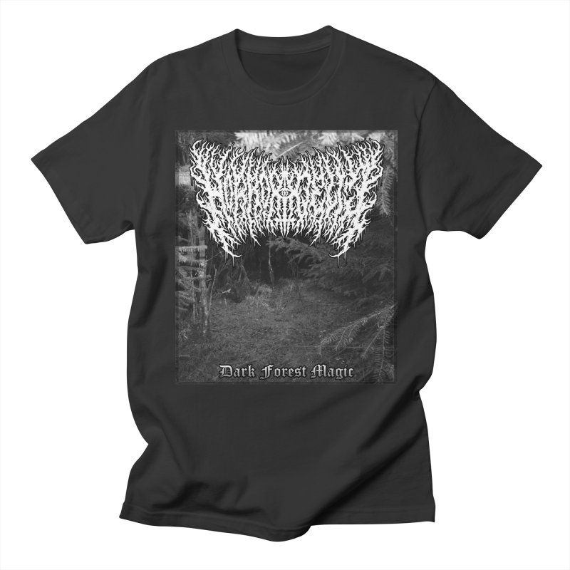 Horrordelic - Dark Forest Magic Women's Regular Unisex T-Shirt by Horrordelic Darkpsy Merch