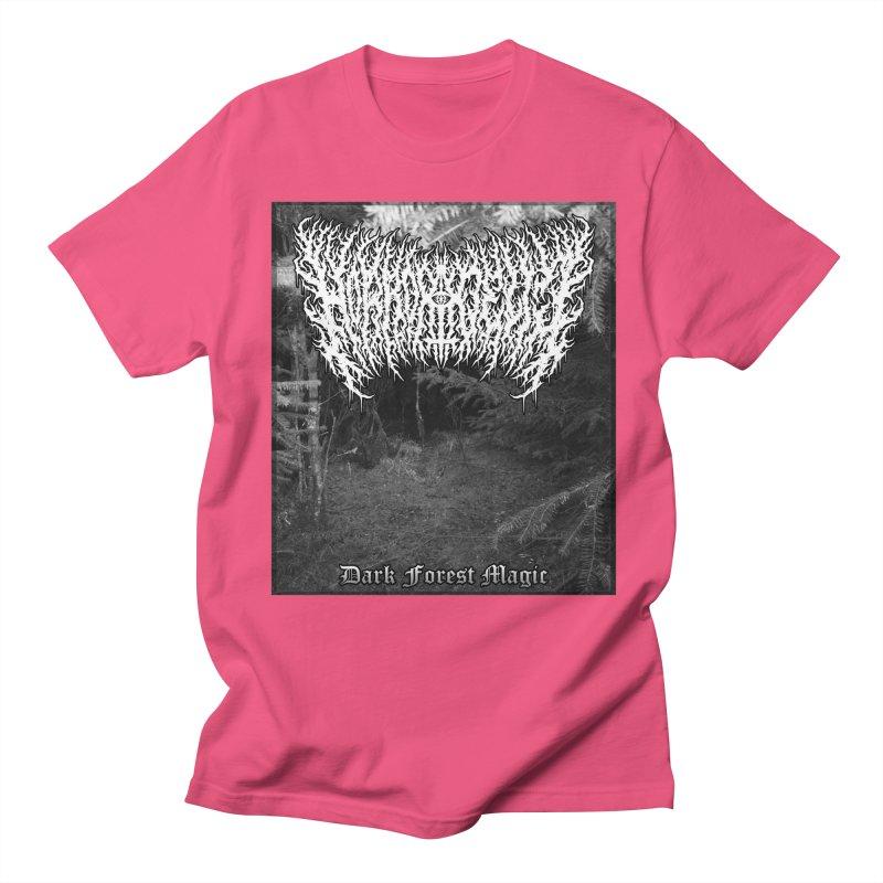Horrordelic - Dark Forest Magic Men's Regular T-Shirt by Horrordelic Darkpsy Merch