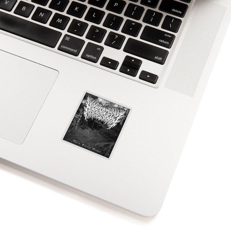 Horrordelic - Dark Forest Magic Accessories Sticker by Horrordelic Darkpsy Merch