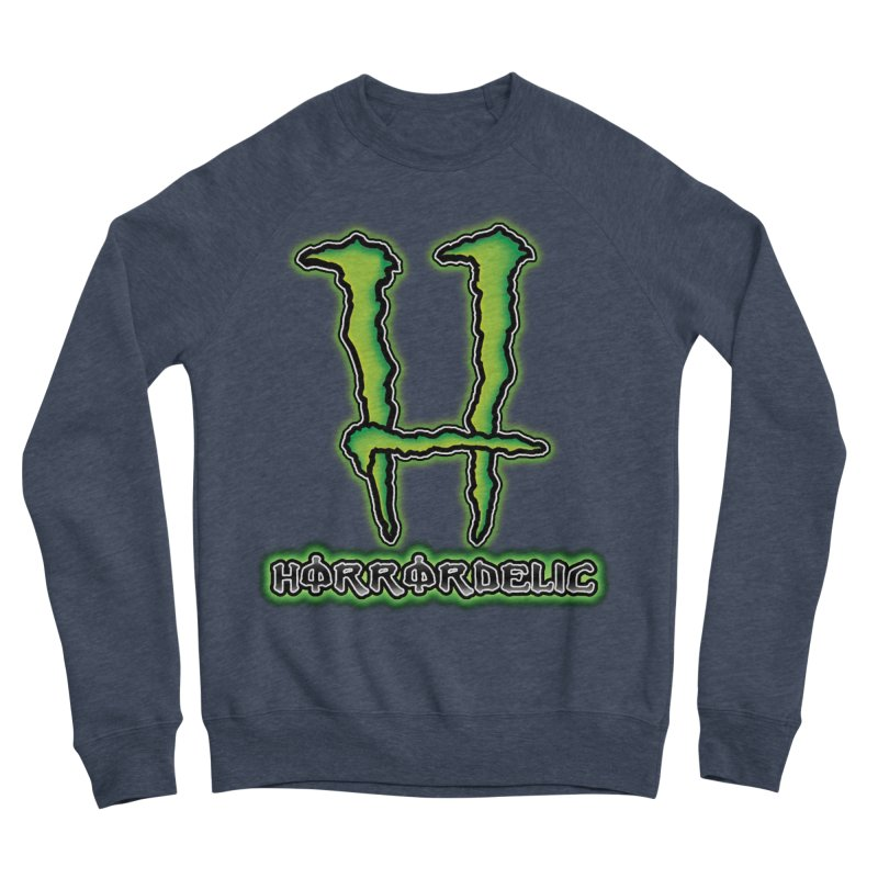 Horrordelic Monsta Men's Sponge Fleece Sweatshirt by Horrordelic Darkpsy Merch