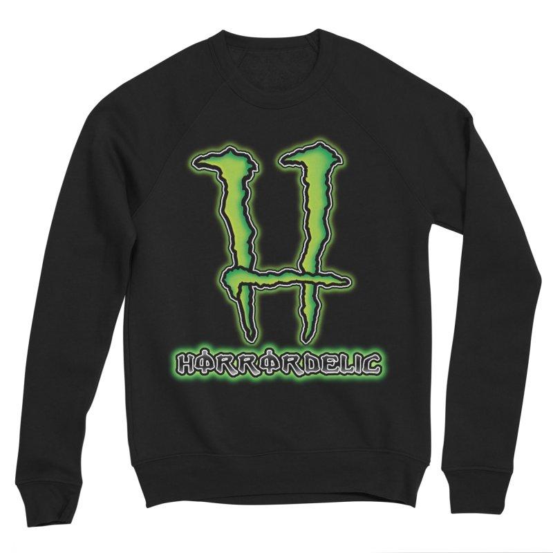Horrordelic Monsta Men's Sponge Fleece Sweatshirt by Horrordelic Darkpsy Merch
