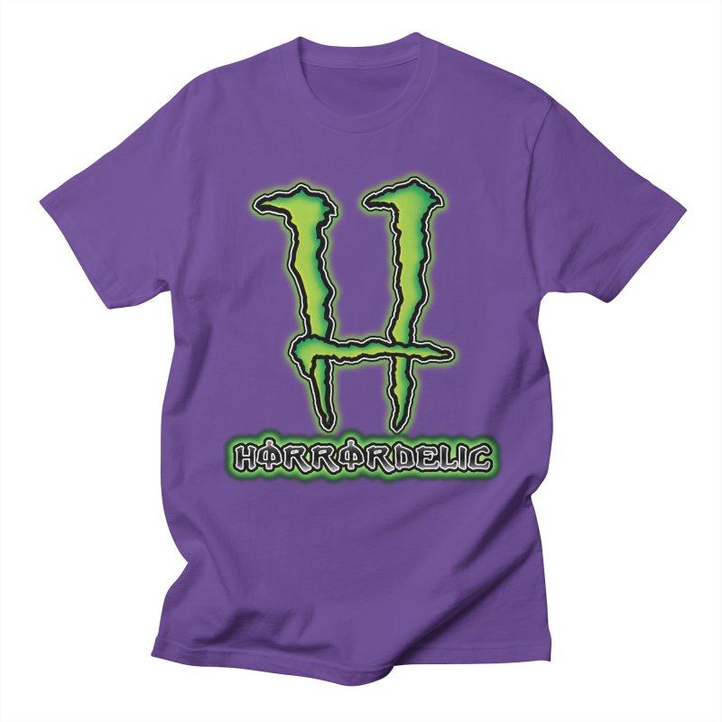 Horrordelic Monsta Women's Regular Unisex T-Shirt by Horrordelic Darkpsy Merch
