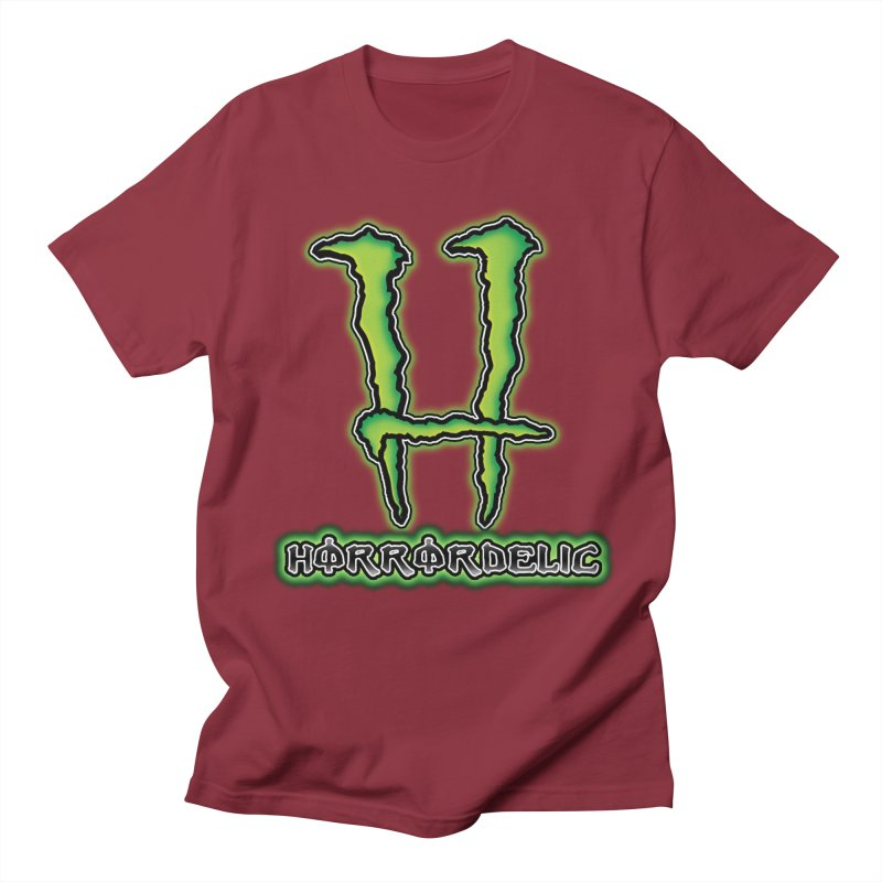 Horrordelic Monsta Men's Regular T-Shirt by Horrordelic Darkpsy Merch