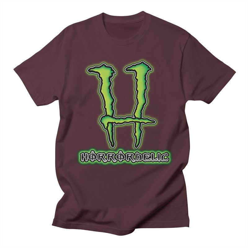 Horrordelic Monsta Women's Regular Unisex T-Shirt by Horrordelic Darkpsy Merch