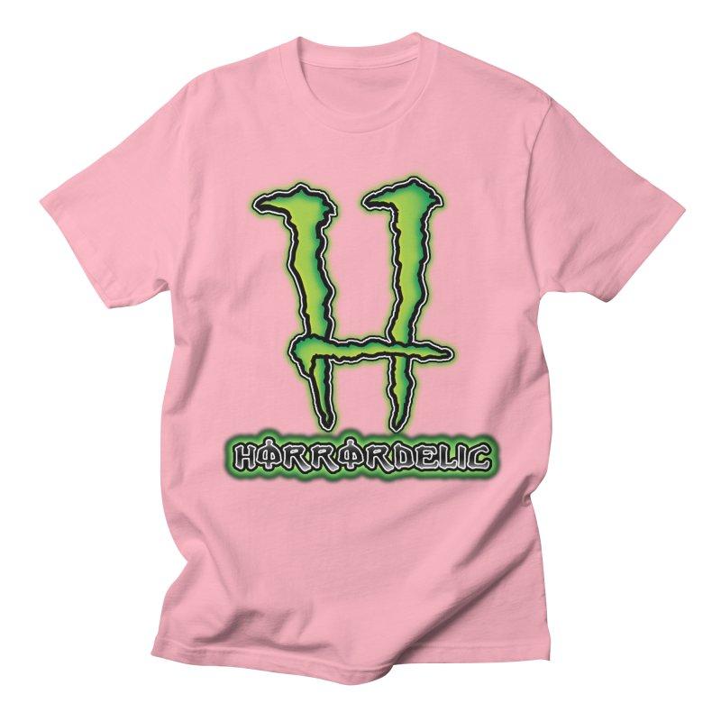 Horrordelic Monsta Men's Regular T-Shirt by Horrordelic Darkpsy Merch