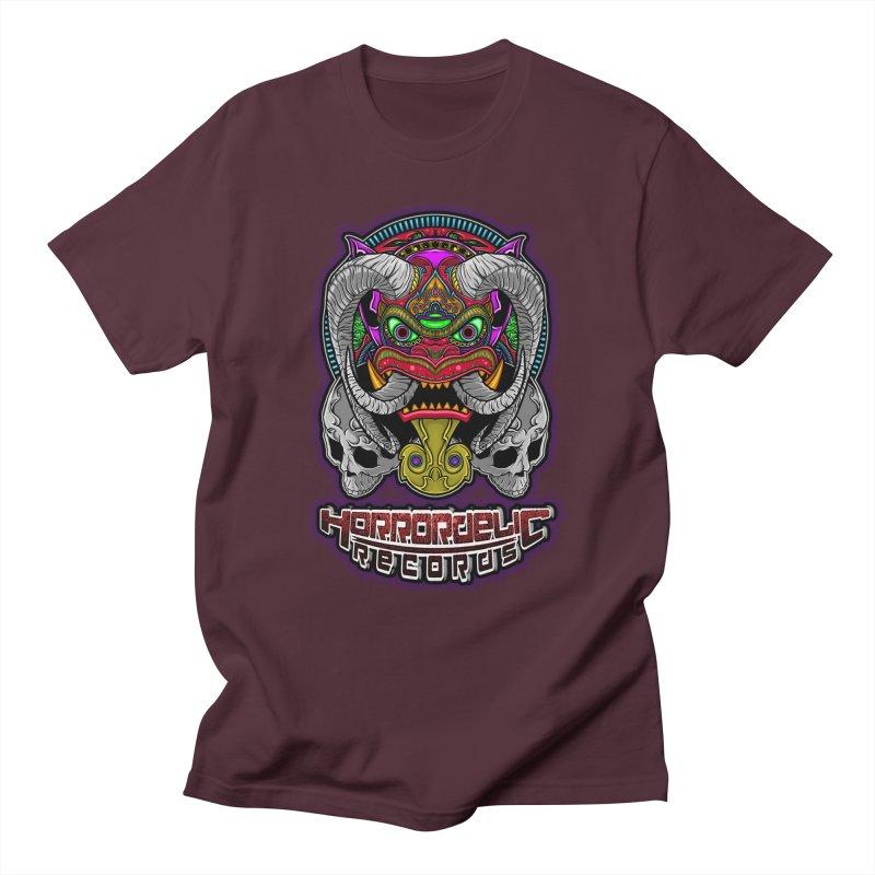 Horrordelic Classic Demon Women's Regular Unisex T-Shirt by Horrordelic Darkpsy Merch