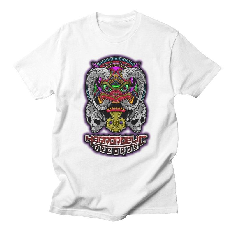 Horrordelic Classic Demon Men's T-Shirt by Horrordelic Darkpsy Merch