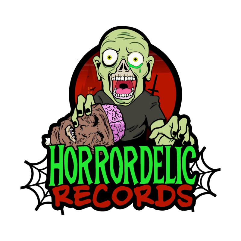 Horrordelic Brain Feasting Zombie by Horrordelic Darkpsy Merch