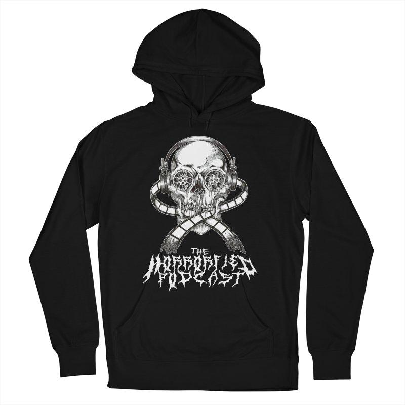 Reel Skull (Black Metal Variant) Women's Pullover Hoody by The Horrorfied Storecast