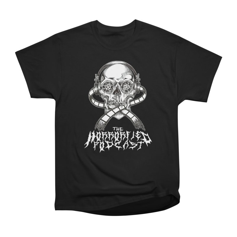 Reel Skull (Black Metal Variant) Women's T-Shirt by The Horrorfied Storecast