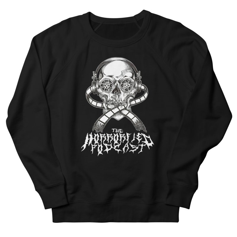 Reel Skull (Black Metal Variant) Men's Sweatshirt by The Horrorfied Storecast