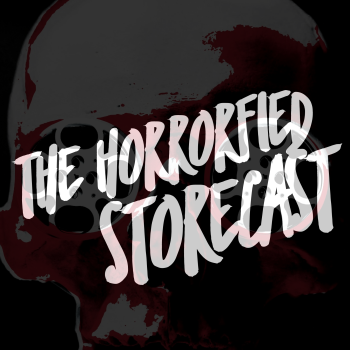 The Horrorfied Storecast Logo