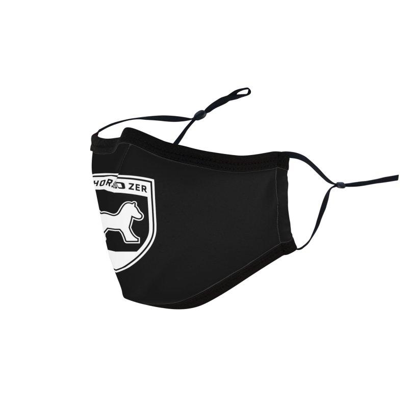 HORSEDOZER SHIELD (WHITE) Accessories Face Mask by HORSEDOZER
