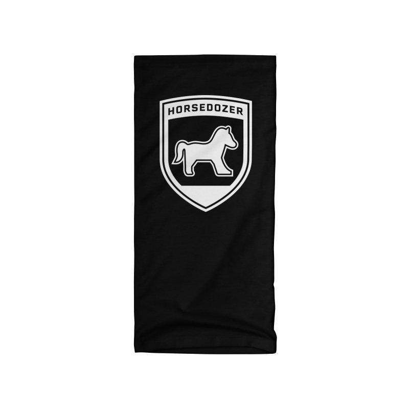 HORSEDOZER SHIELD (WHITE) Accessories Neck Gaiter by HORSEDOZER