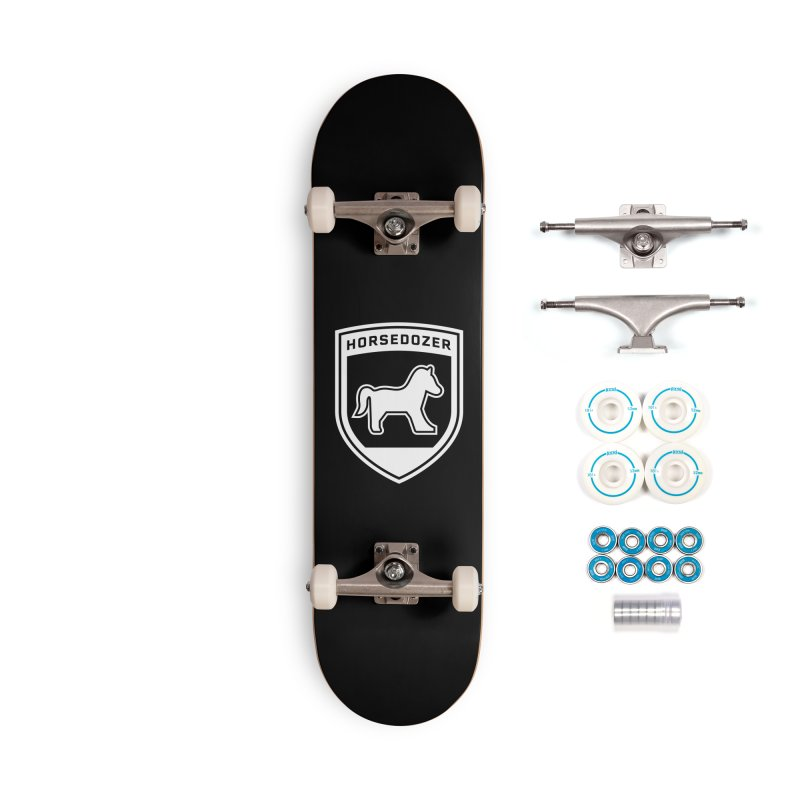 HORSEDOZER SHIELD (WHITE) Accessories Skateboard by HORSEDOZER