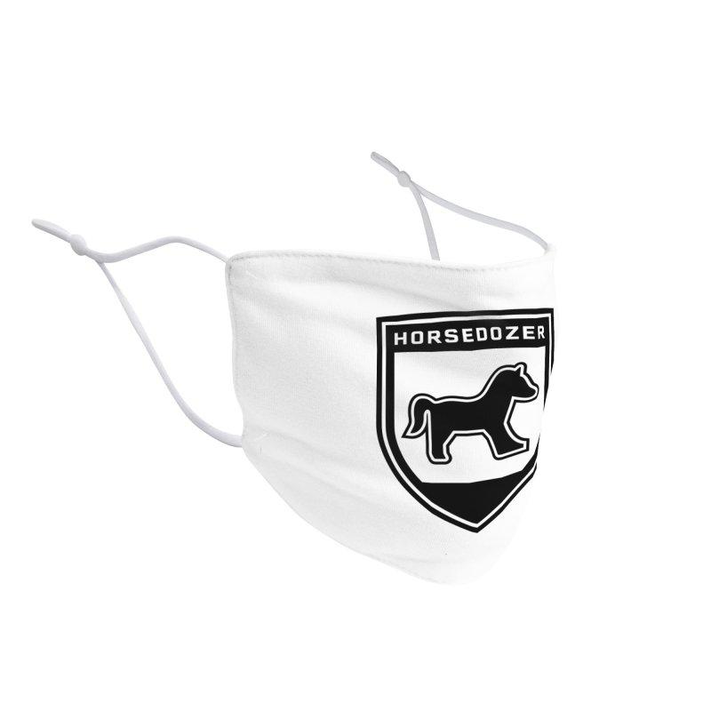HORSEDOZER SHIELD (BLACK) Accessories Face Mask by HORSEDOZER