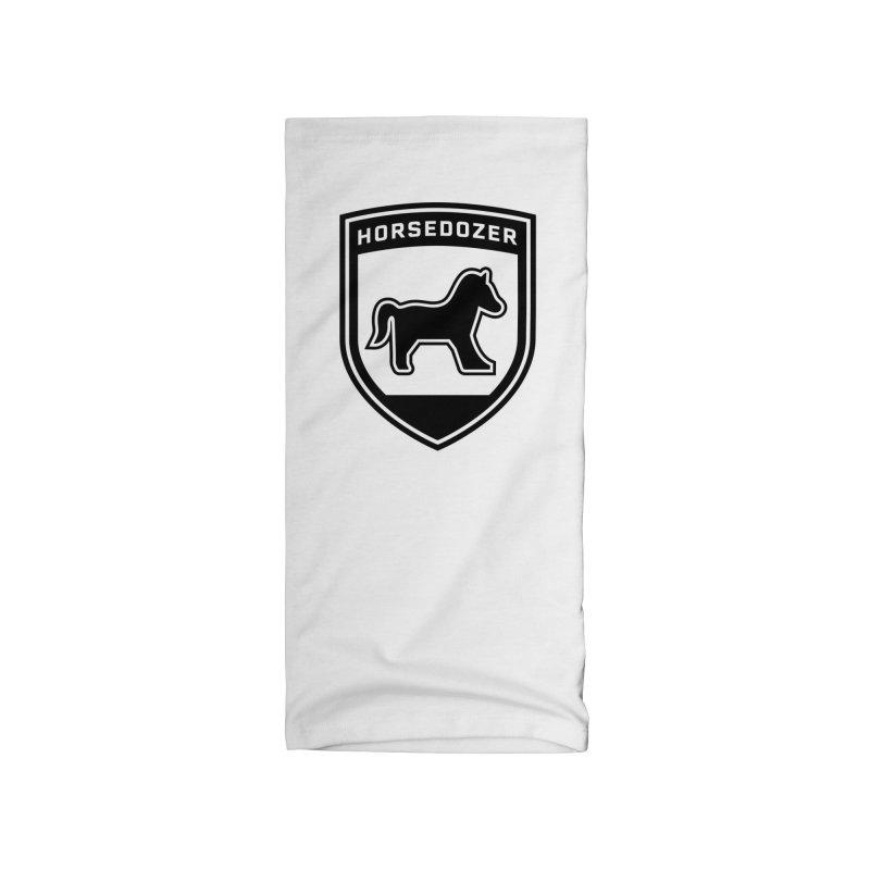 HORSEDOZER SHIELD (BLACK) Accessories Neck Gaiter by HORSEDOZER