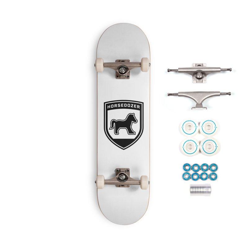 HORSEDOZER SHIELD (BLACK) Accessories Skateboard by HORSEDOZER
