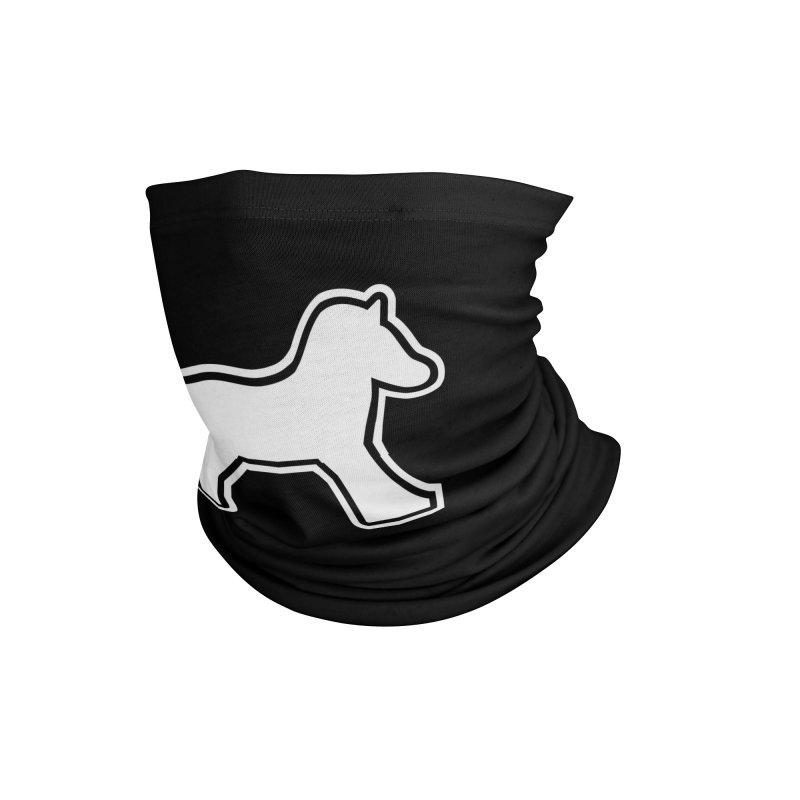 HORSEDOZER ICON (WHITE) Accessories Neck Gaiter by HORSEDOZER