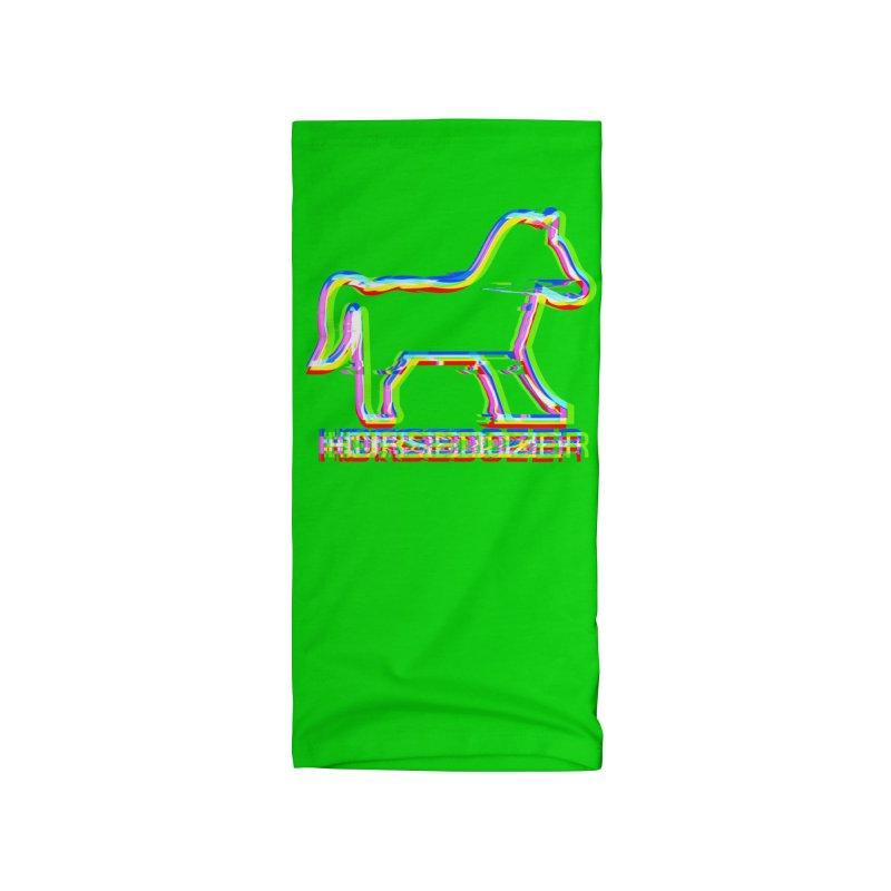 HORSEDOZER SPORTWAVE Accessories Neck Gaiter by HORSEDOZER