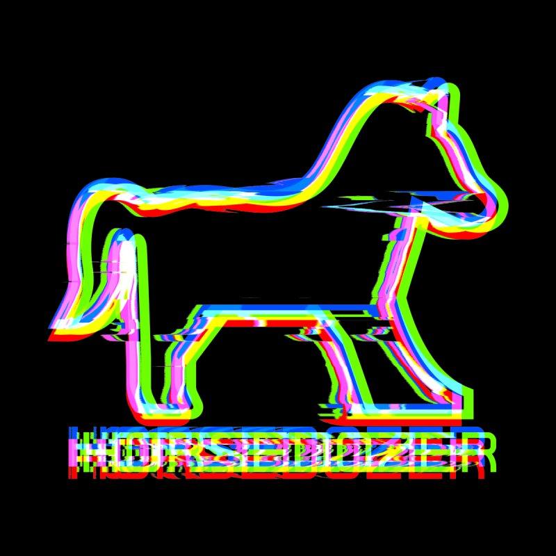 HORSEDOZER SPORTWAVE Kids Pullover Hoody by HORSEDOZER