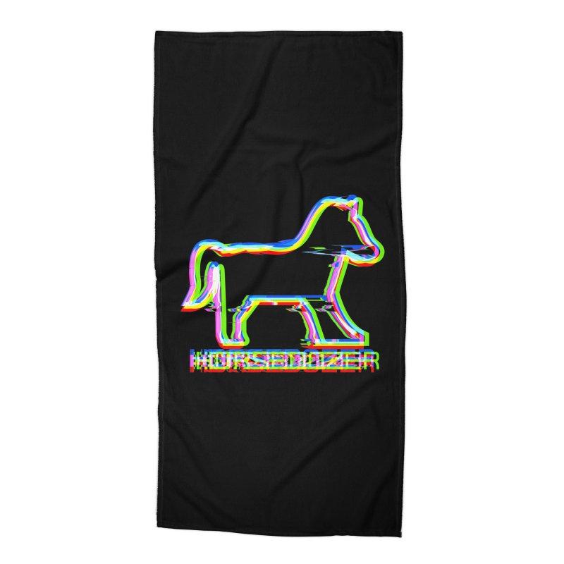 HORSEDOZER SPORTWAVE Accessories Beach Towel by HORSEDOZER