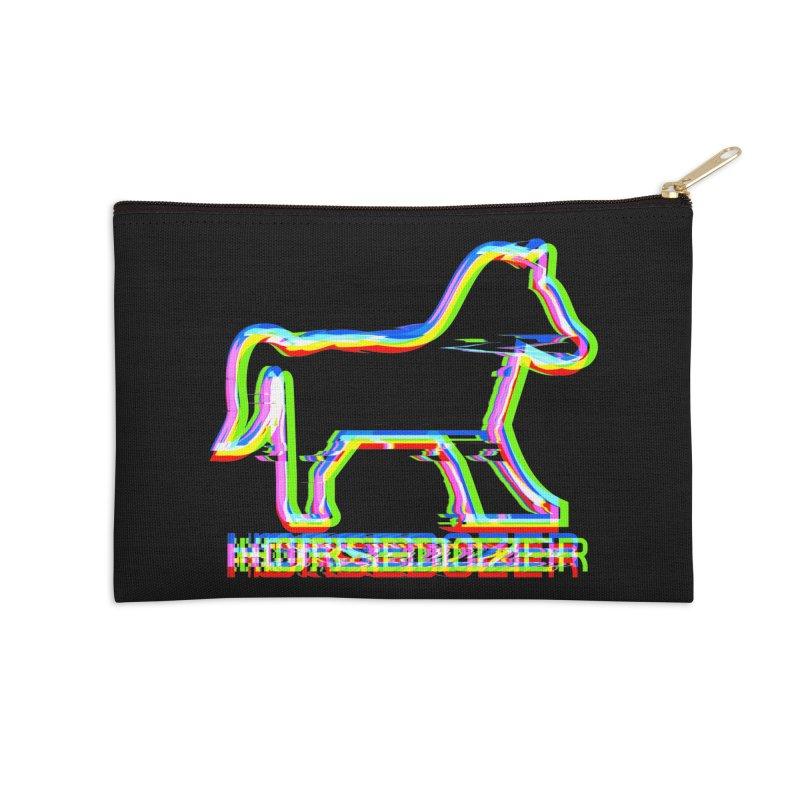 HORSEDOZER SPORTWAVE Accessories Zip Pouch by HORSEDOZER