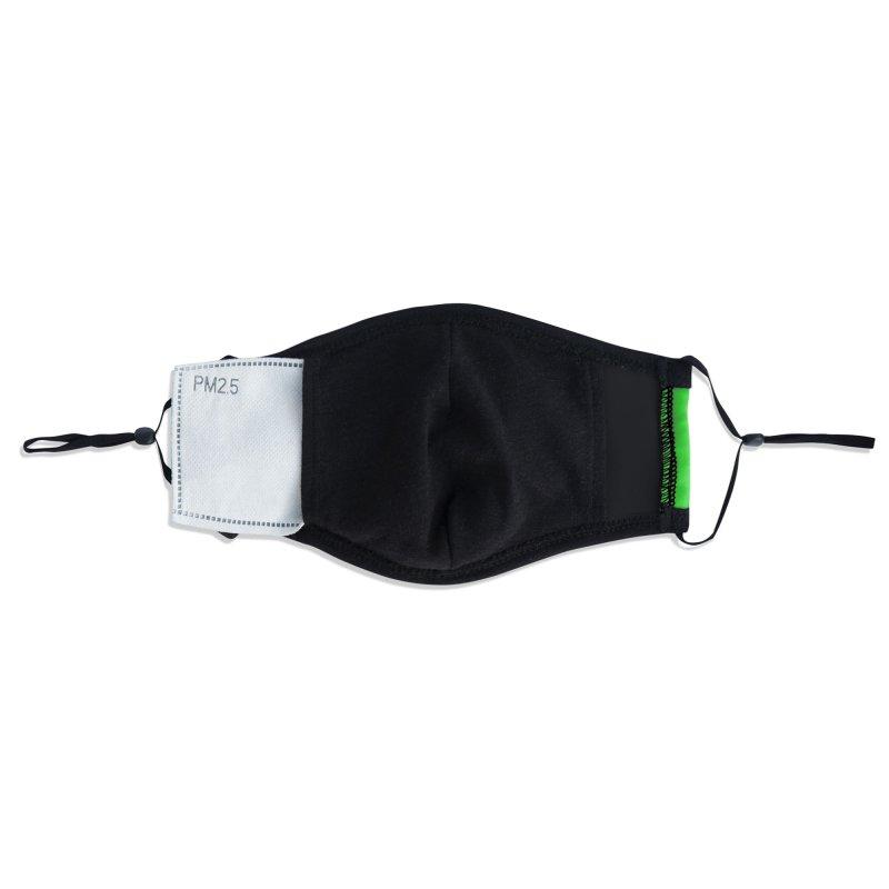 HORSEDOZER SPORTWAVE RGB Accessories Face Mask by HORSEDOZER
