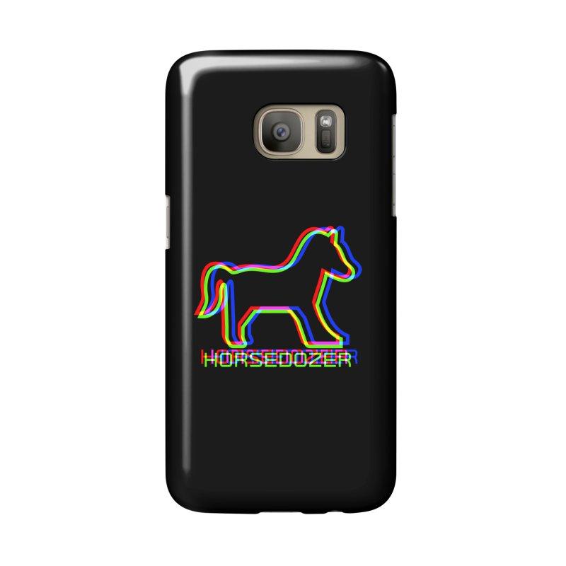 HORSEDOZER SPORTWAVE RGB Accessories Phone Case by HORSEDOZER