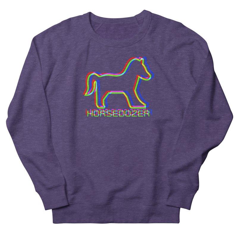HORSEDOZER SPORTWAVE RGB Women's Sweatshirt by HORSEDOZER