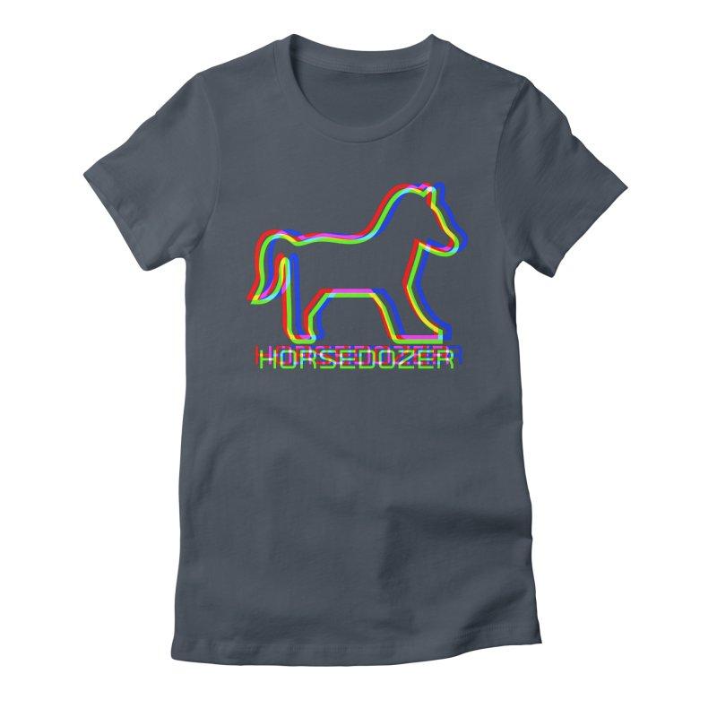 HORSEDOZER SPORTWAVE RGB Women's T-Shirt by HORSEDOZER