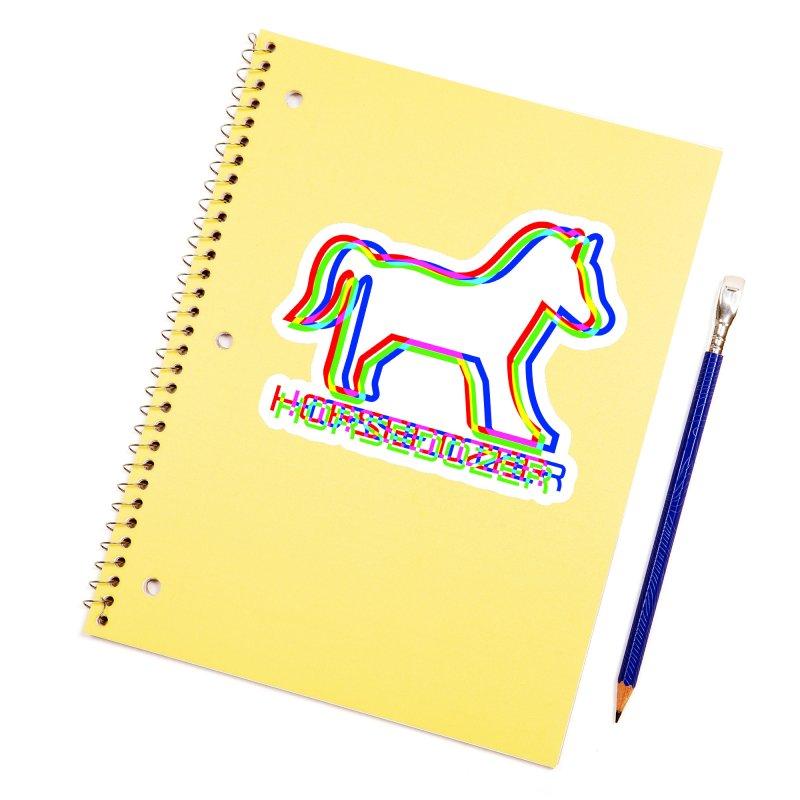 HORSEDOZER SPORTWAVE RGB Accessories Sticker by HORSEDOZER