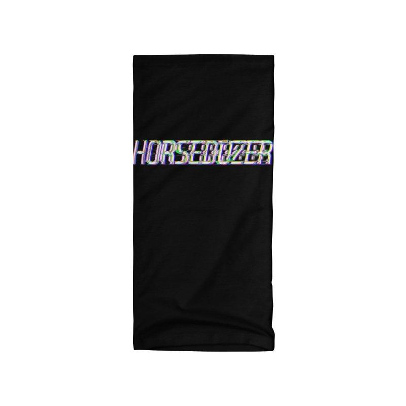 HORSEDOZER BROKENTYPEWAVE Accessories Neck Gaiter by HORSEDOZER