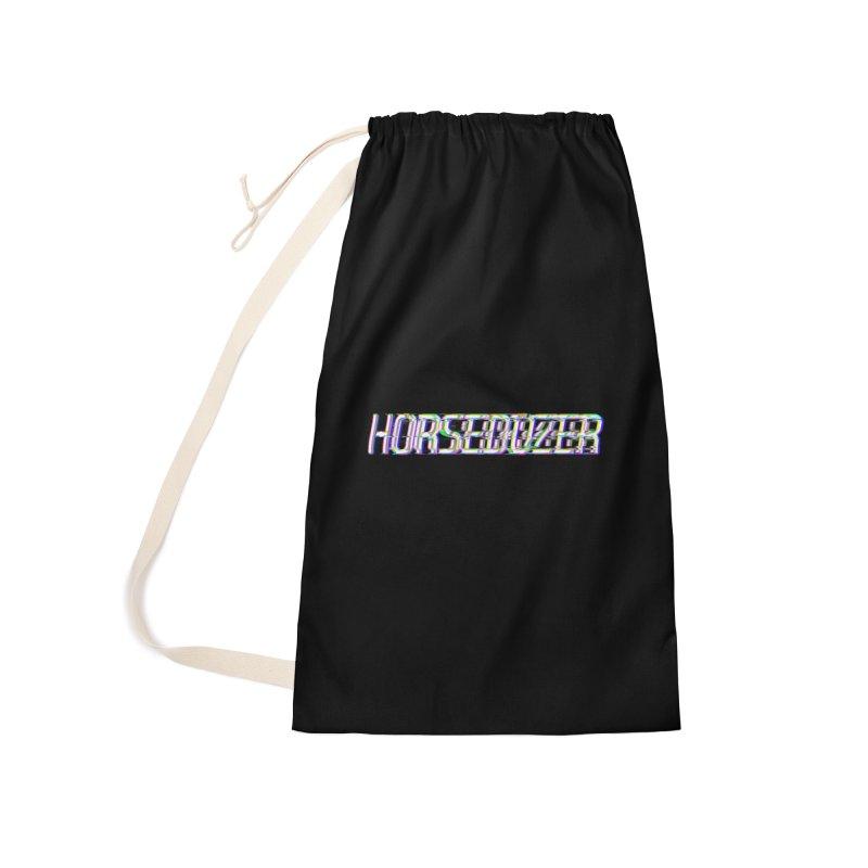HORSEDOZER BROKENTYPEWAVE Accessories Bag by HORSEDOZER
