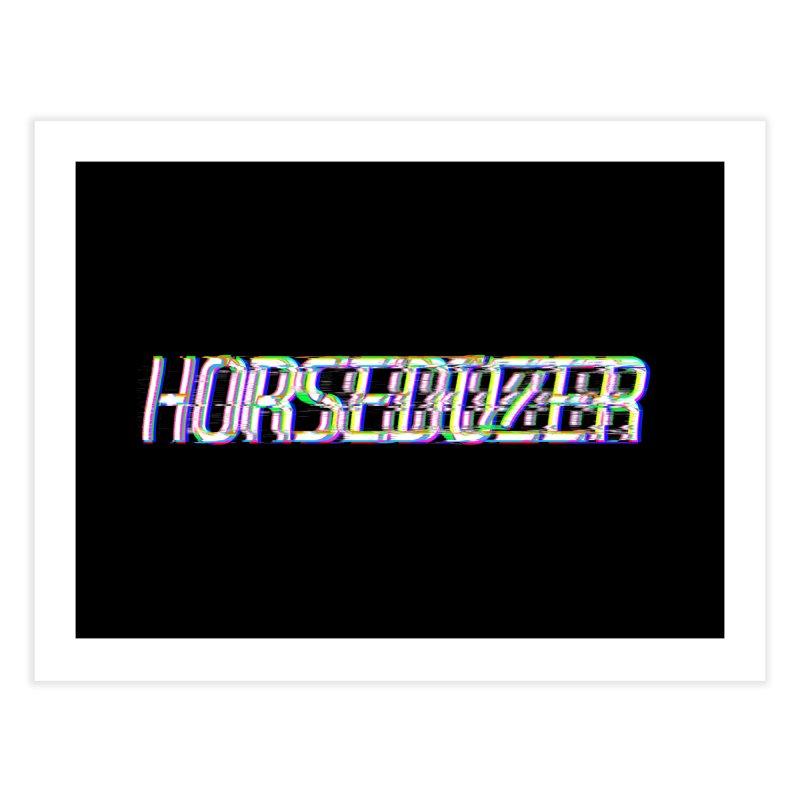 HORSEDOZER BROKENTYPEWAVE Home Fine Art Print by HORSEDOZER