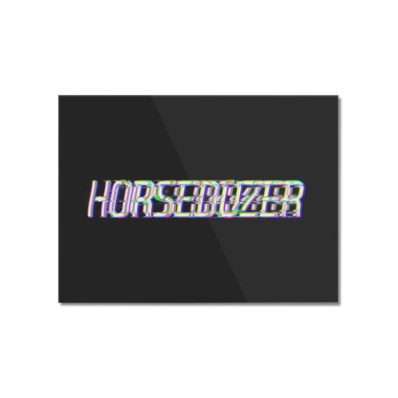 HORSEDOZER BROKENTYPEWAVE Home Mounted Acrylic Print by HORSEDOZER