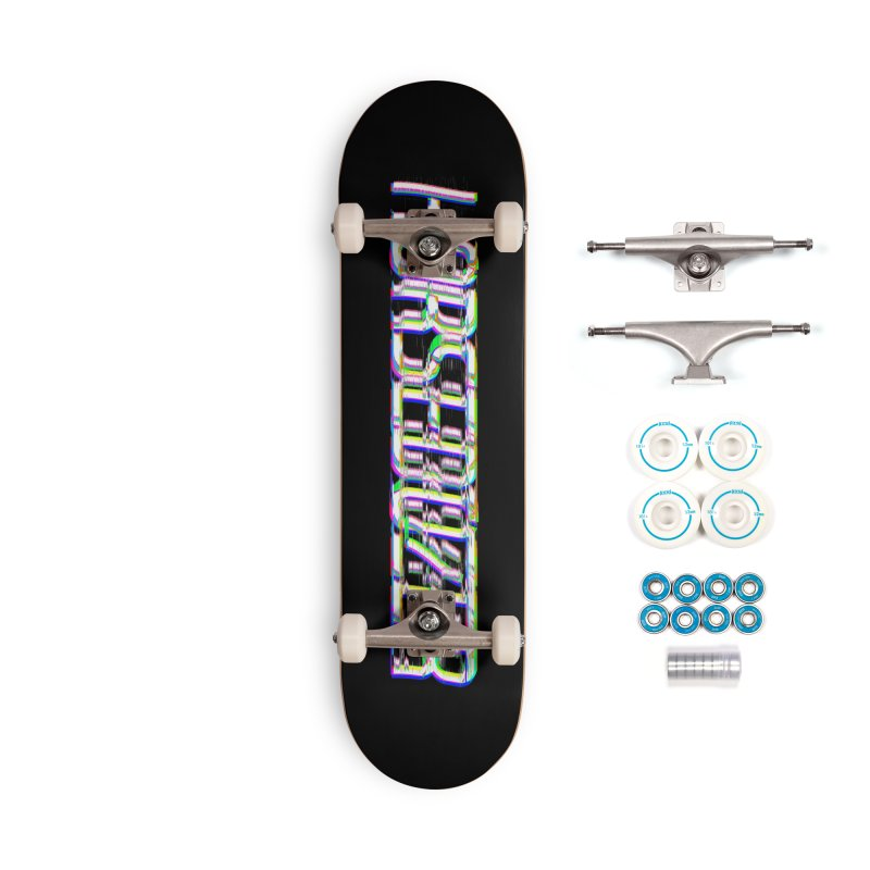 HORSEDOZER BROKENTYPEWAVE Accessories Skateboard by HORSEDOZER