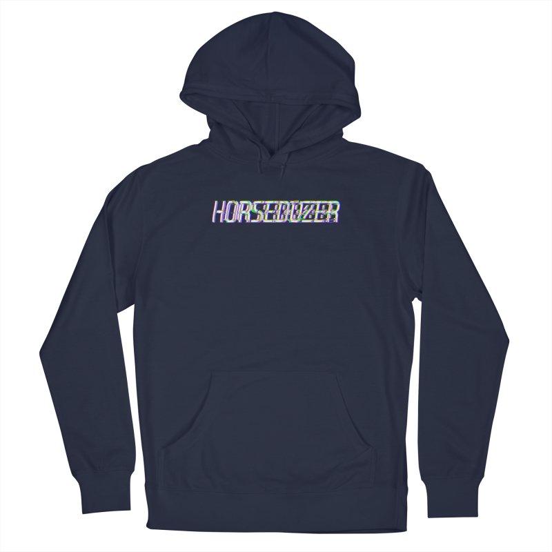 HORSEDOZER BROKENTYPEWAVE Men's Pullover Hoody by HORSEDOZER