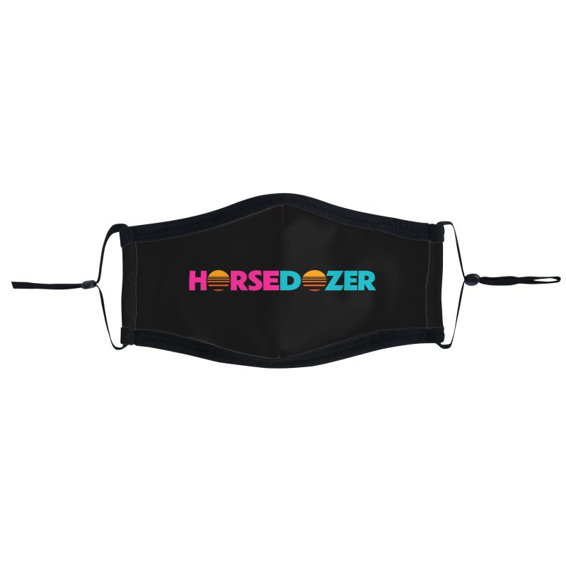 HORSEDOZER MIAMIWAVE (SS/21) Accessories Face Mask by HORSEDOZER