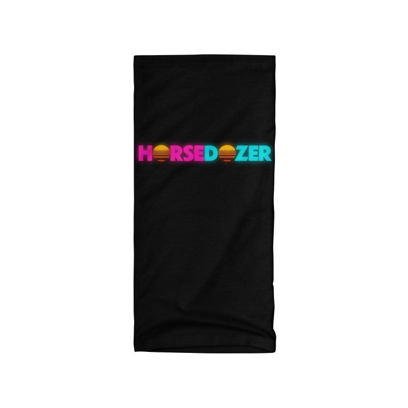 HORSEDOZER MIAMIWAVE (SS/21) Accessories Neck Gaiter by HORSEDOZER