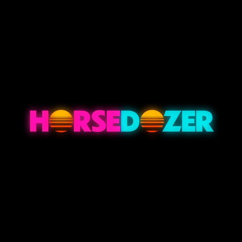HORSEDOZER MIAMIWAVE (SS/21) Accessories Greeting Card by HORSEDOZER