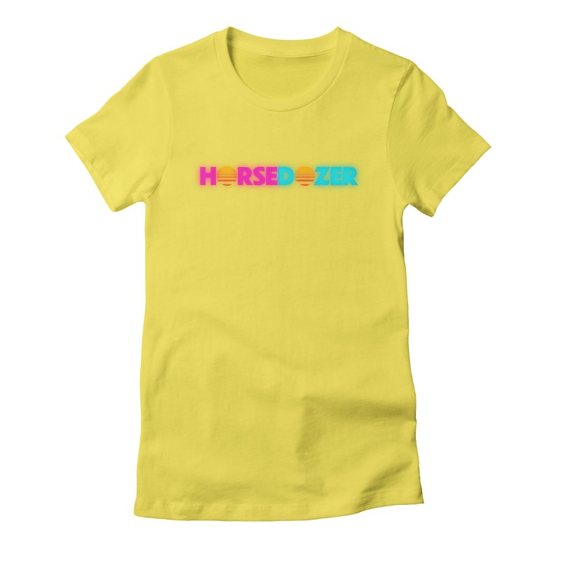 HORSEDOZER MIAMIWAVE (SS/21) Women's T-Shirt by HORSEDOZER
