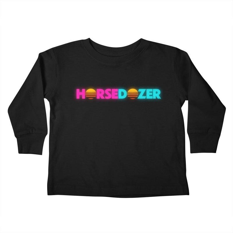 HORSEDOZER MIAMIWAVE (SS/21) Kids Toddler Longsleeve T-Shirt by HORSEDOZER