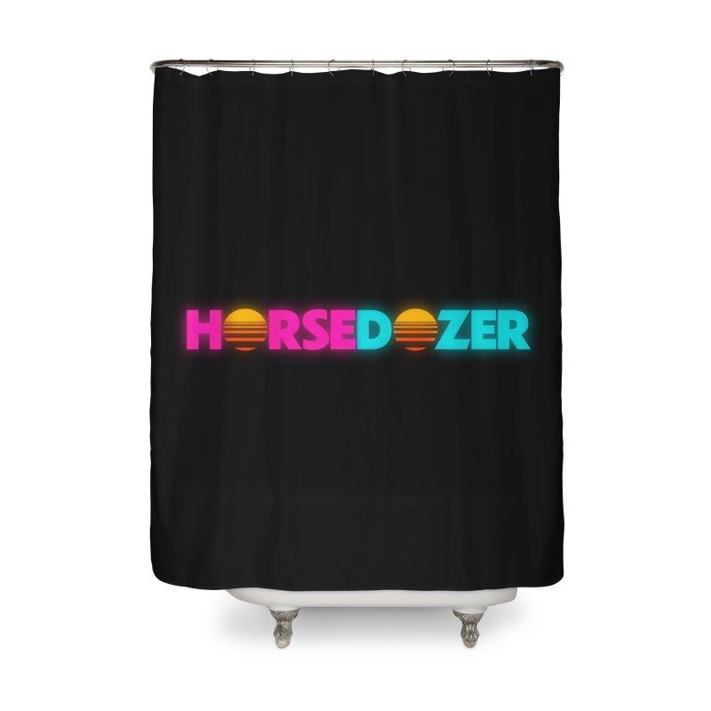 HORSEDOZER MIAMIWAVE (SS/21) Home Shower Curtain by HORSEDOZER