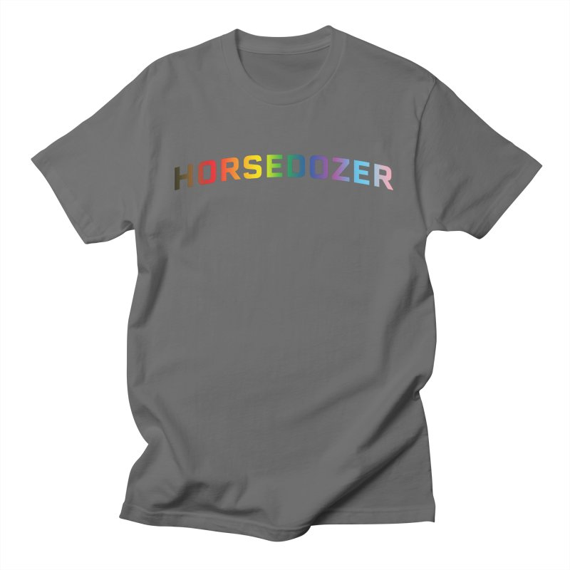 HORSEDOZER PRIDE Men's T-Shirt by HORSEDOZER