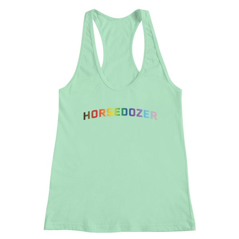 HORSEDOZER PRIDE Women's Tank by HORSEDOZER