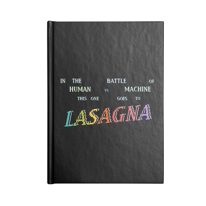 THIS ONE GOES TO LASAGNA (RACER TRASH TRIBUTE) Accessories Notebook by HORSEDOZER