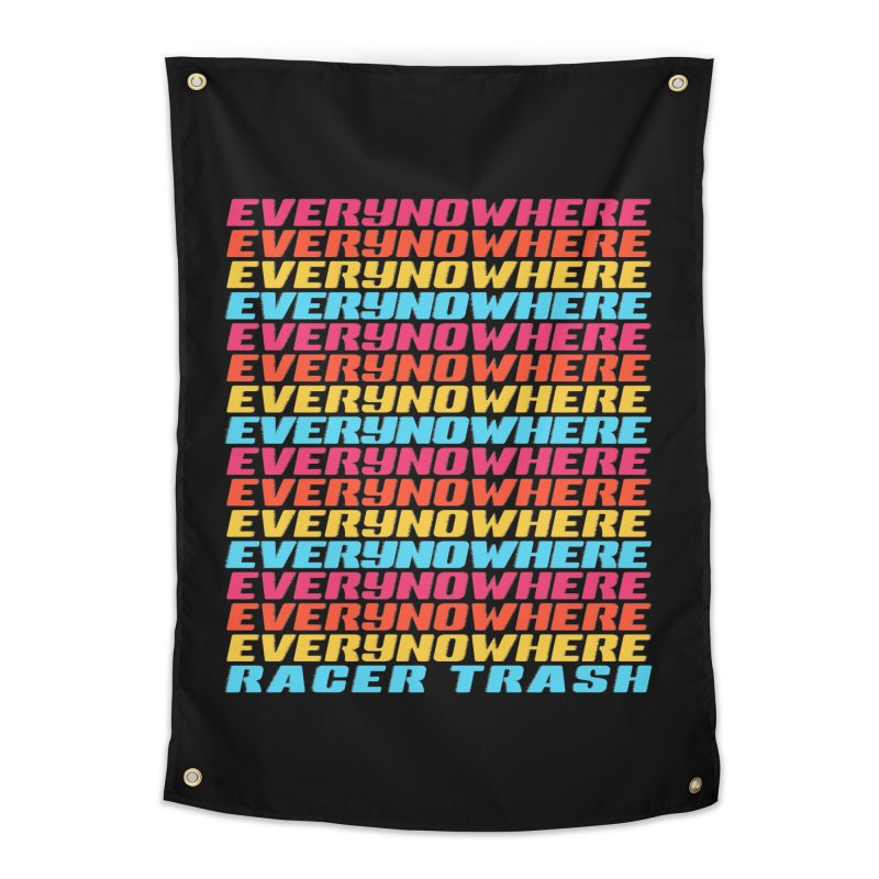 EVERYNOWHERE (RACER TRASH TRIBUTE) Home Tapestry by HORSEDOZER